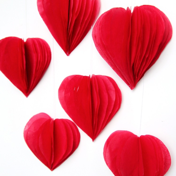How To Decorate A Paper Valentine Heart