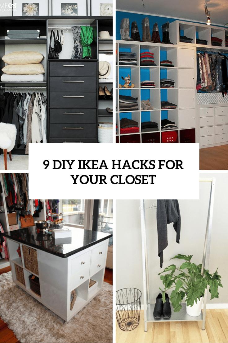 9 diy ikea hacks for your closet cover