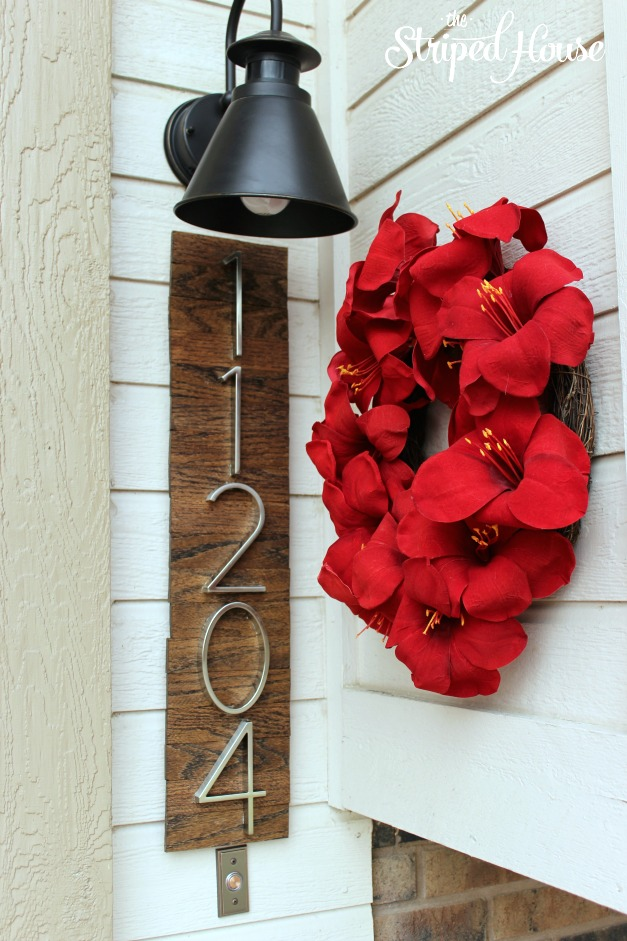 10 Creative And Eye Catching DIY House Number Ideas