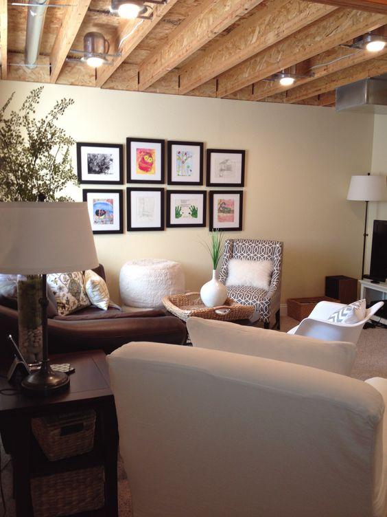 36 Practical And Stylish Basement Ceiling D 233 Cor Ideas