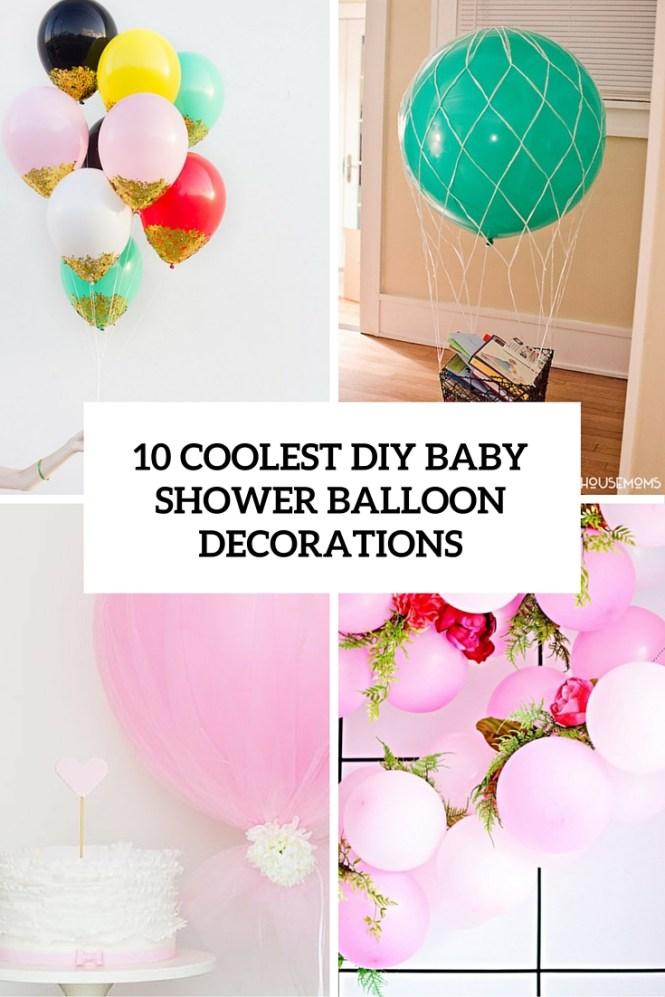 Umbrella And Balloons