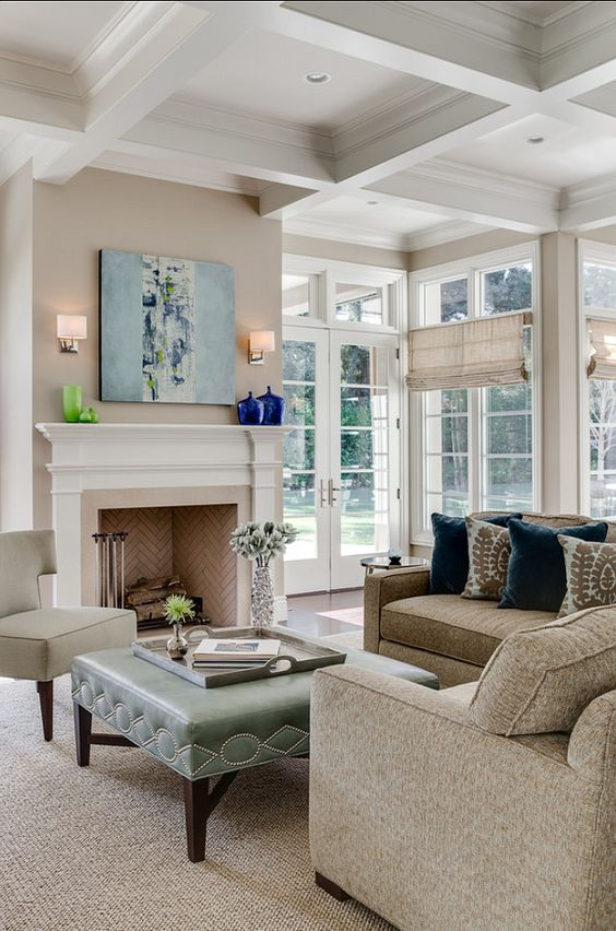 Turquoise And Beige Living Room Ideas