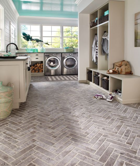 28 clever mudroom laundry combo ideas shelterness on paint for laundry room floor ideas images id=15923