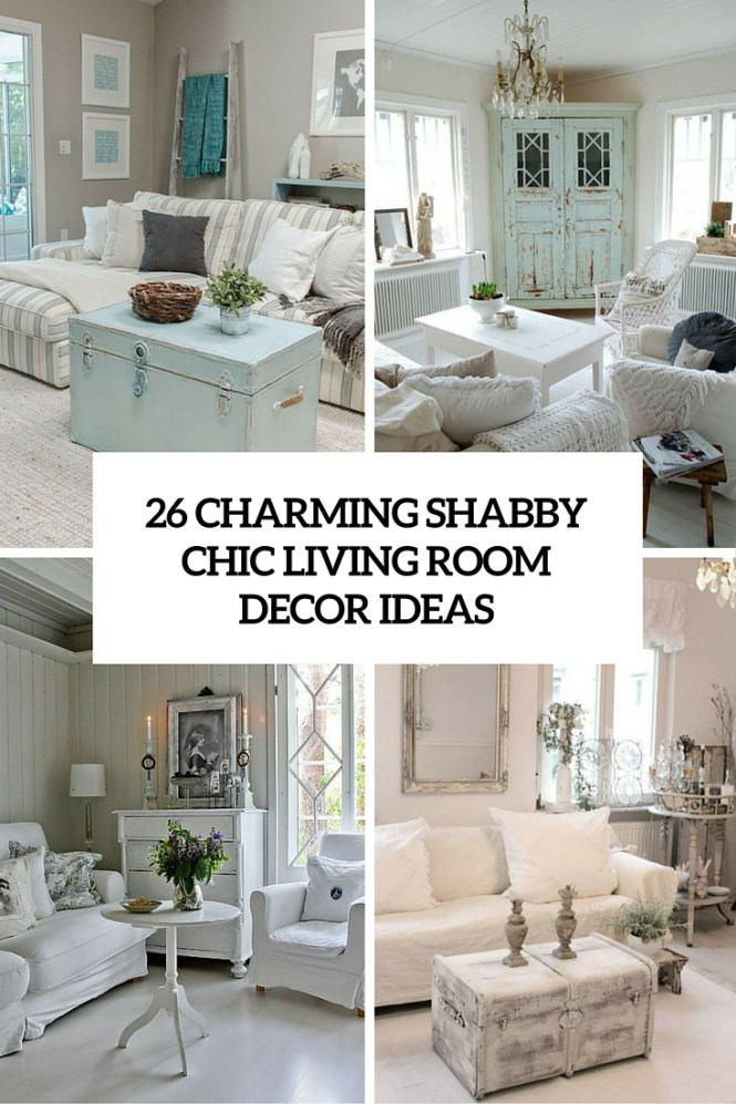 Shabby Chic Living Rooms Ideas Color