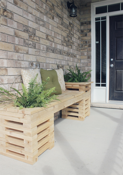 9 Diy Planter Benches For Your Outdoor Spaces Shelterness