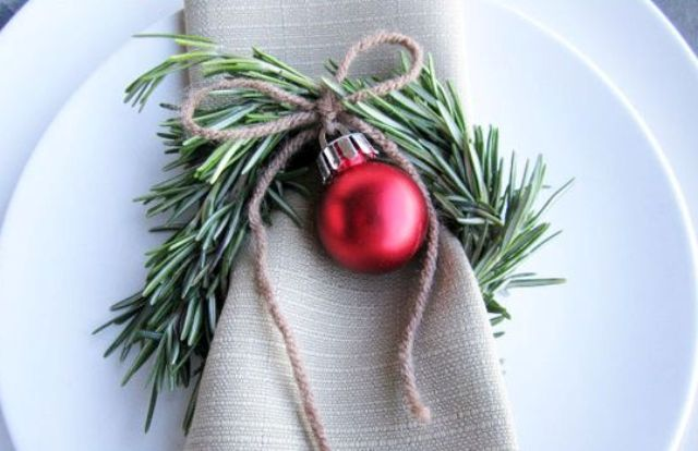 27 Cute Christmas Napkin Rings To Polish The Table Decor
