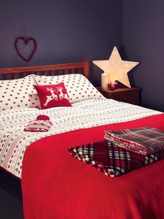 21 Cozy Christmas Bedroom Dcor Ideas Shelterness