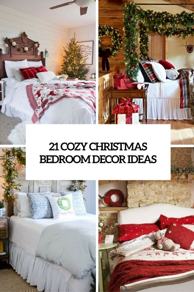 21 Cozy Christmas Bedroom Décor Ideas