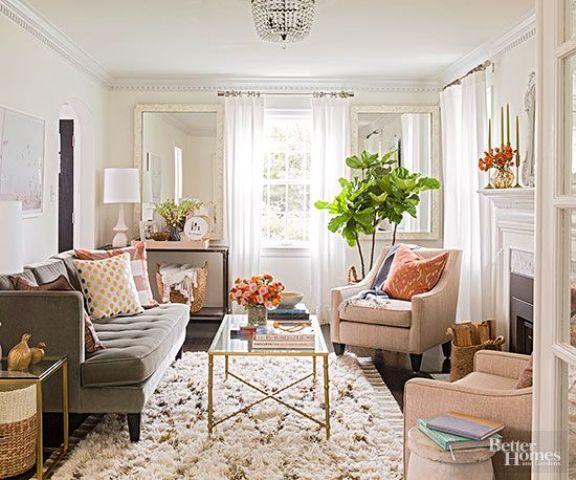 How To Arrange A Small Living Room: 20 Ideas