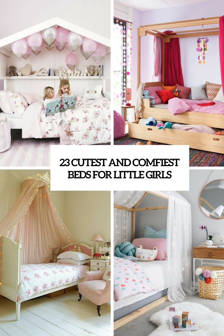 23 Cutest And Comfiest Beds For Little Girls Shelterness