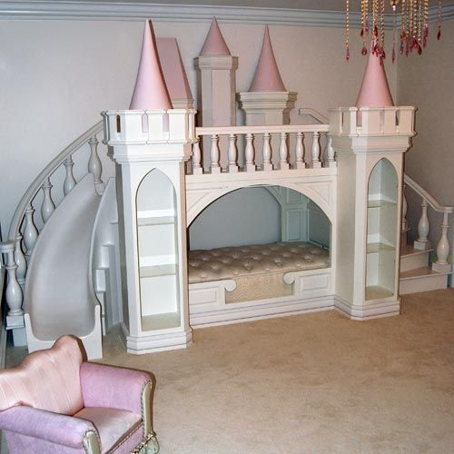 20 cutest castle and carriage beds for