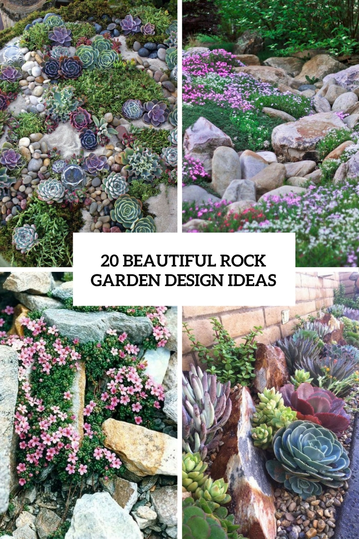 The Best Decorating Ideas For Your Home of February 2017 ... on Backyard Rock Designs id=31262
