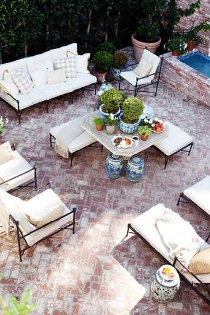 18 brick patio ideas with pros and cons
