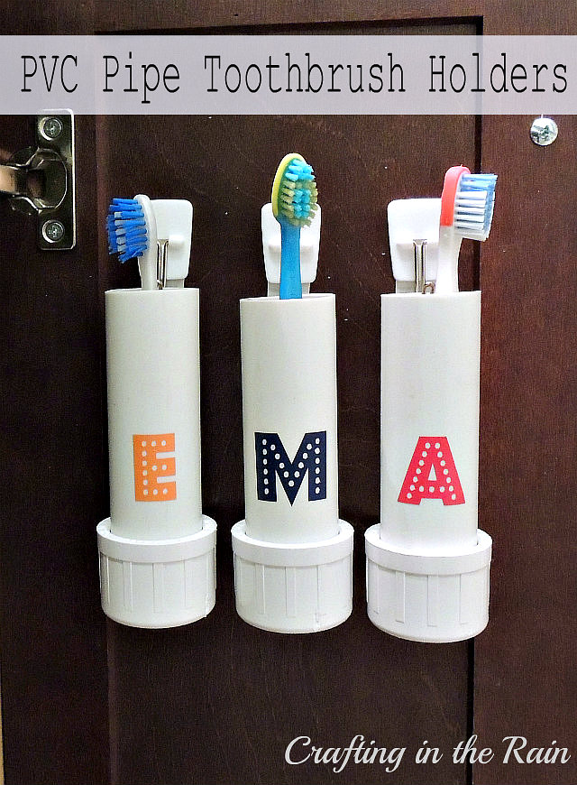 10 DIY Toothbrush Holders To Highlight Your Bathroom Décor ... on Decorative Sconces Don't Need Electric Toothbrush id=20236