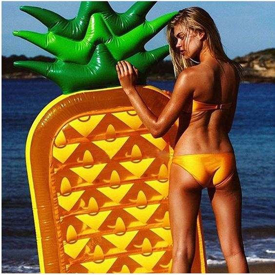 inflatable giant pineapple pool float