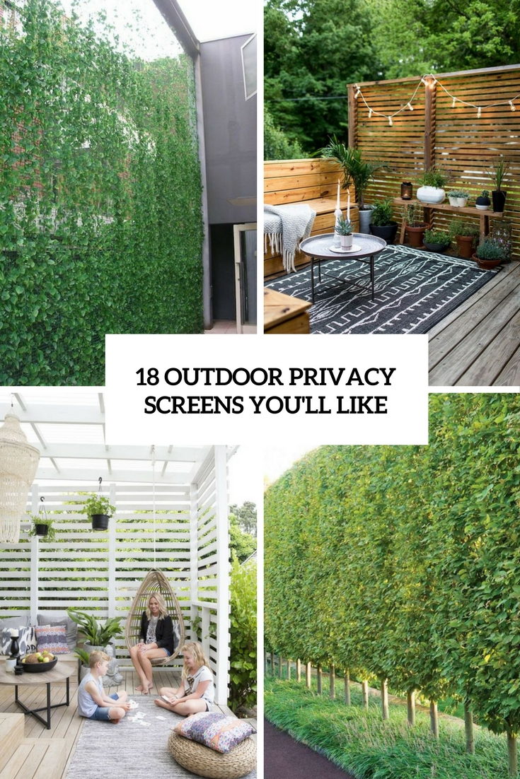 18 outdoor privacy screens you ll like