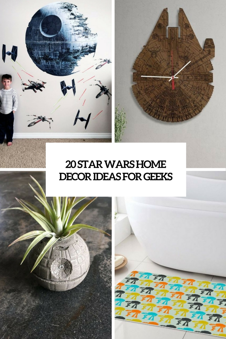 20 Star Wars Home D    cor Ideas For Geeks   Shelterness star wars home decor ideas for geeks cover