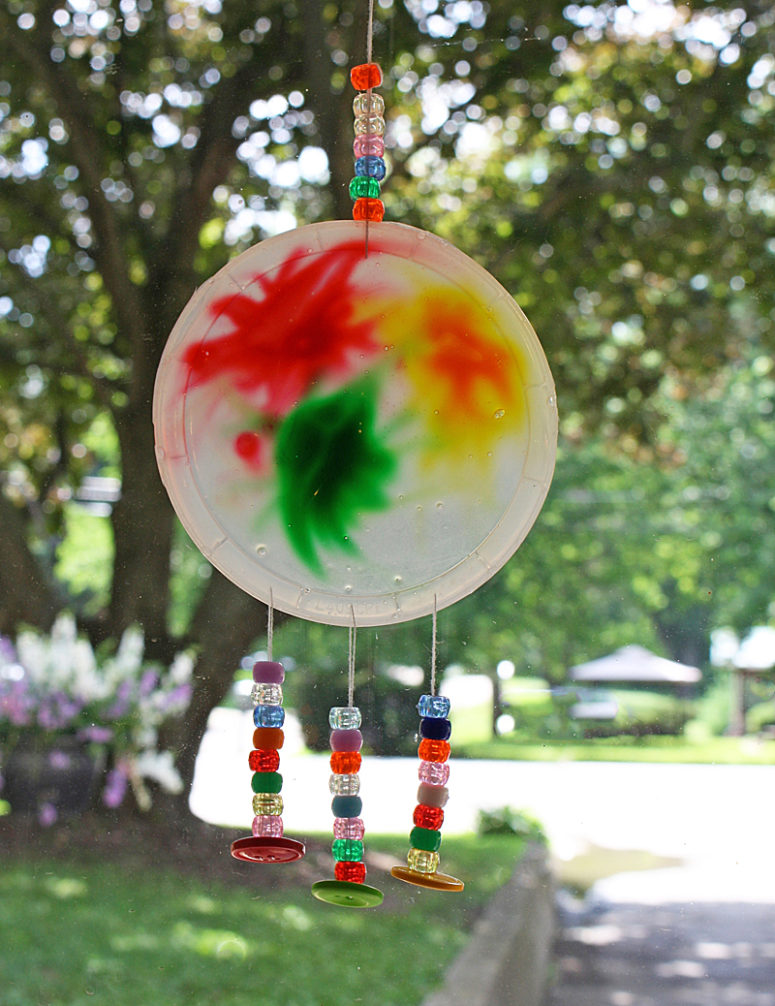 10 Colorful DIY Suncatchers To Make With Kids Shelterness