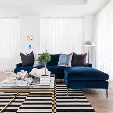 trendy velvet sofas for a refined touch