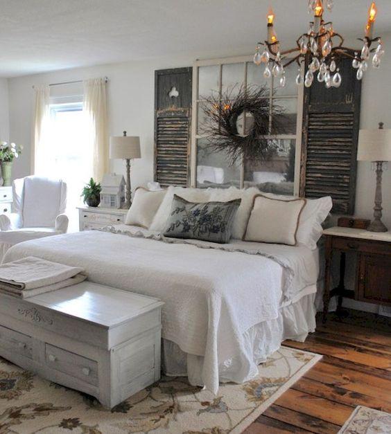 15 Cozy Rustic Bedroom Decor Ideas - Shelterness on Bedroom Farmhouse Decor  id=51228