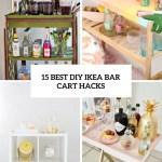 15 Best Diy Ikea Bar Cart Hacks Shelterness