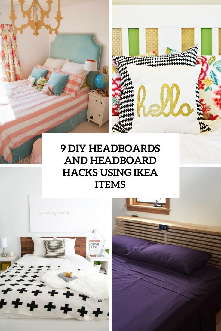 9 Diy Headboards And Headboard Hacks Using Ikea Items Shelterness