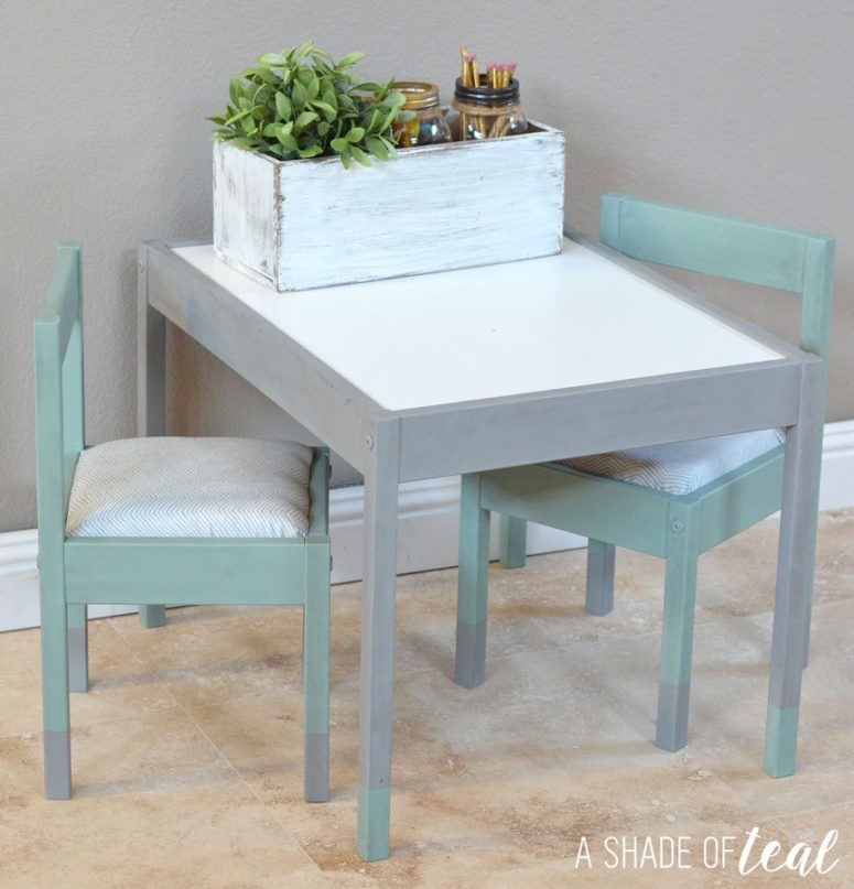 18 Diy Ikea Latt Table And Chairs Hacks Shelterness
