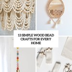 13 Simple Wood Bead Crafts For Every Home Shelterness