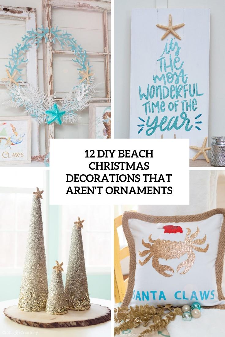 Diy Beach Christmas Decor Archives Shelterness