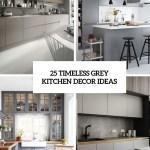 25 Timeless Grey Kitchen Decor Ideas Shelterness