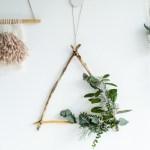 7 Bold Diy Boho Chic Christmas Wreaths Shelterness