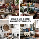 25 Boho Living Room Decor Ideas That Rock Shelterness