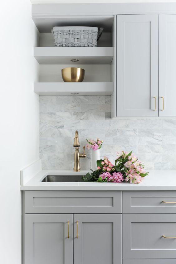 chic marble kitchen backsplashes
