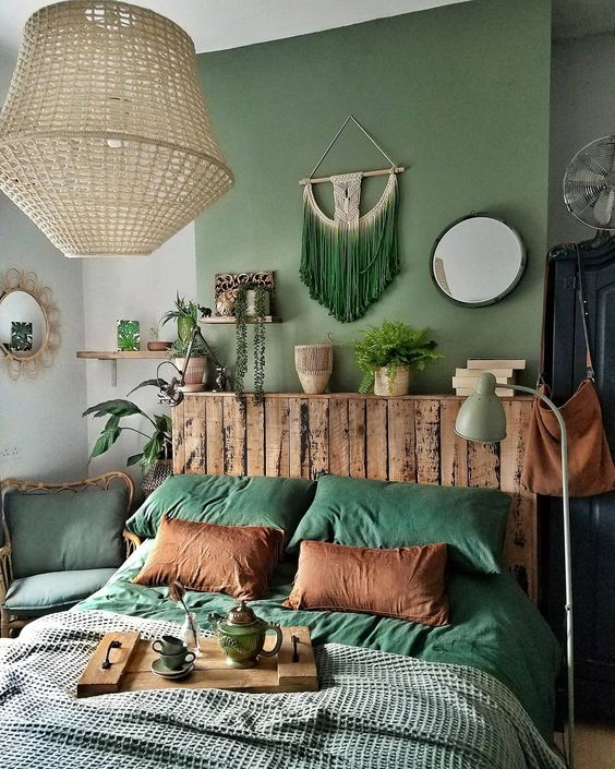 25 Soothing Green Bedroom Decor Ideas Shelterness