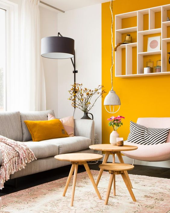 25 Chic Yellow Living Room Decor Ideas Shelterness
