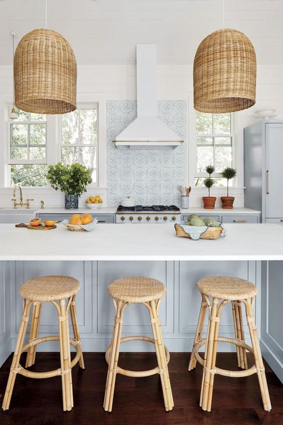 25 inspiring coastal kitchen decor