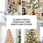 25 Non Typical Christmas Tree Skirts And Covers Shelterness