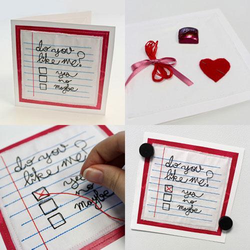 22 Amazing DIY Valentine's Day Cards - Shelterness