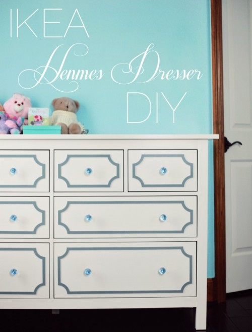 8 Awesome And Original DIY IKEA Hemnes Dresser Hacks
