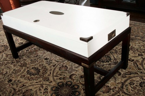 15 awesome diy coffee table makeovers - shelterness