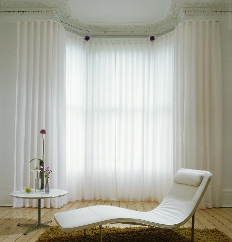 50 Cool Bay Window Decorating Ideas   Shelterness Bay window s negative space can become a comfortable place to lounge