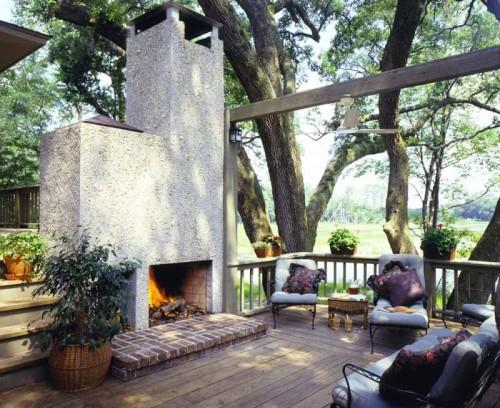 29 Cool Backyard Design Ideas - Shelterness on Cool Backyard Patio Ideas id=61631