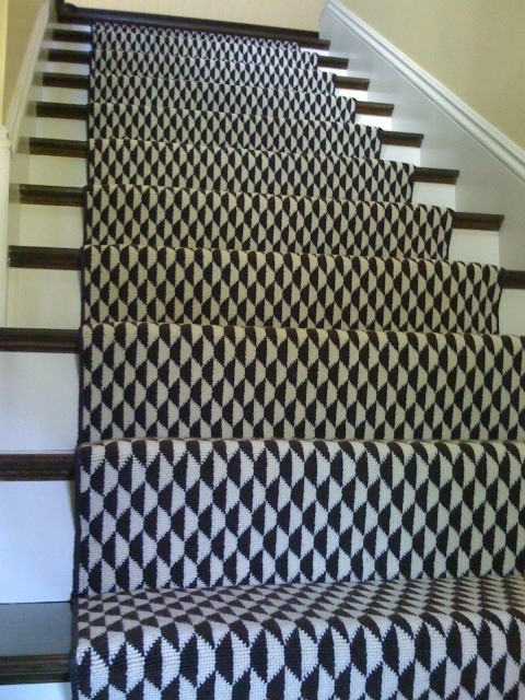 43 Cool Carpet Runners For Stairs To Make Your Life Safer | Thin Carpet For Stairs | Area Rug | Grey | Stair Runners | Flooring | Hallway