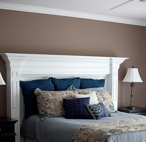 Update your bedroom decor with these simple diy projects at hgtv.com. 20 Creative Headboard Ideas To Imitate A Fireplace