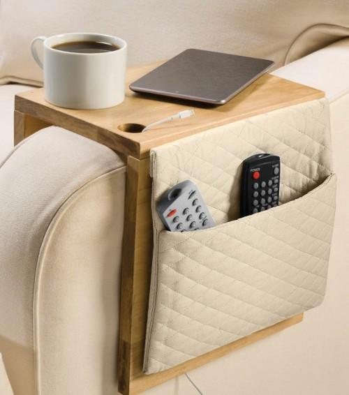 creative storage 8 diy sofa caddies