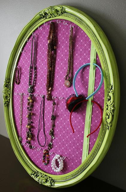 DIY Fancy Jewelry Boards Shelterness