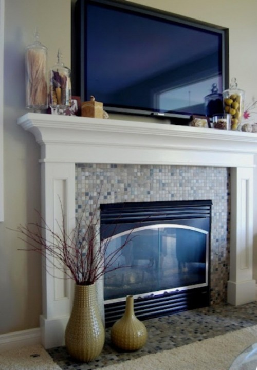 87 Exciting Fall Mantel D    cor Ideas   Shelterness Exciting Fall Mantel Decor Ideas