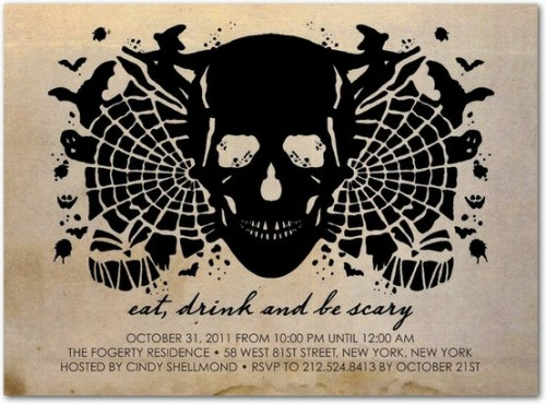 Birthday Invitations Halloween