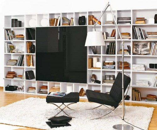50 Ideas To Organize A Home Library In A Living Room