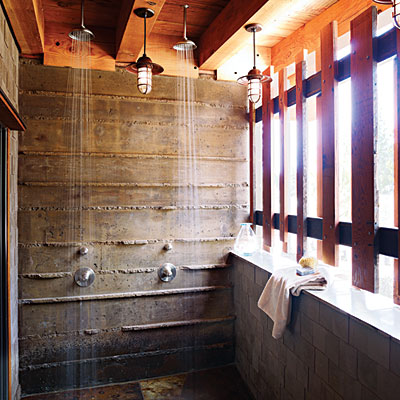 Bare surfaces are very significant for this style of interior decor.